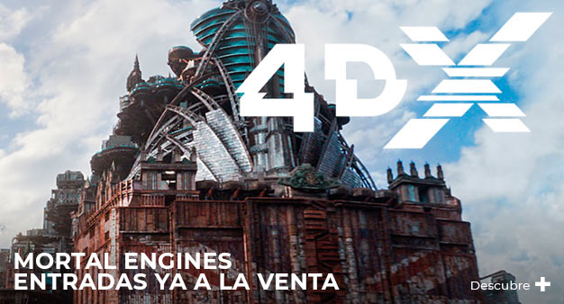 Ya están aquí: Mortal Engines en 4DX